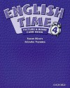 English Time 4: Picture & Word Card Book - Susan Rivers, Setsuko Toyama