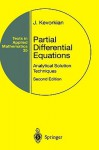 Partial Differential Equations: Analytical Solution Techniques - J. Kevorkian