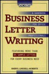 Business Letter Writing - Sheryl Lindsell-Roberts