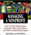 STREETWISE Managing a Nonprofit - John Riddle, Tere Drenth
