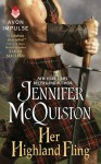 Her Highland Fling: A Novella - Jennifer McQuiston