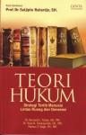 Teori Hukum. Strategi Tertib Manusia Lintas Ruang dan Generasi. - Bernard L.Tanya, Yoan N. Simanjuntak, Markus Y.Hage