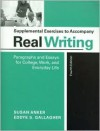 Supplemental Exercises for Real Writing - Susan Anker