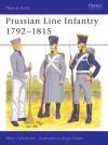 Prussian Line Infantry 1792-1815 - Peter Hofschröer, Peter Hofshcroer, Bryan Fosten