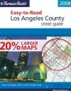 Los Angeles County, California Easy to Read Atlas - Thomas Brothers Maps