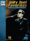 Billy Joel Favorites Keyboard Book (Note-For-Note Keyboard Transcriptions) - Billy Joel