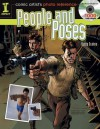 Comic Artist's Photo Reference - People & Poses: Book/CD Set with 1000+ Color Images - Buddy Scalera