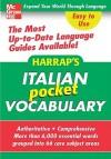 Harrap's Italian Pocket Vocabulary - Harrap's Publishing