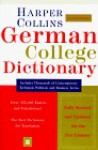 HarperCollins German College Dictionary 2nd Edition - Robin Sawers