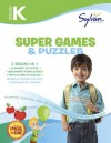 Kindergarten Super Games & Puzzles (Sylvan Super Workbook) - Sylvan Learning