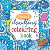 Little Doodling and Colouring Book: Blue Book - Non Figg