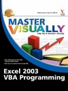 Master Visually Excel 2003 VBA Programming - Julia Kelly