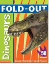 Fold-Out Dinosaurs Sticker Book - Dominic Zwemmer