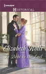 In Debt to the Earl - Elizabeth Rolls
