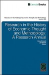 Research in the History of Economic Thought and Methodology, Volume 29 A-C - Ross B. Emmett, Jeff E. Biddle, Marianne F. Johnson