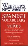 Webster's New World Spanish Vocabulary and Verbs: Two-in-one Study Guide (Webster's New World) - Websters, Lexus Ltd., Aurora Luelmo