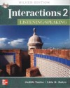 Interactions 2 - Listening/Speaking Teacher's Standalone Ecourse Code: Silver Edition - Tanka Judith, Lida Baker