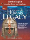 Holt World History Human Legacy Spanish/English Interactive Reader and Study Guide - Holt Rinehart
