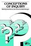 Conceptions of Inquiry - Stuart C. Brown, Brown Stuart