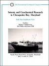 Seismic and Geochemical Research in Chesapeake Bay, Maryland: Sandy Point State Park, Annapolis, Maryland, July 15 and 18, 1989 - Robert Cuthbertson, Jeff Halka, James Hill