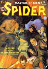 The Spider, Master of Men! #23: Master of the Death-Madness - Grant Stockbridge, Norvell W. Page