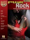 Punk Rock: Bass Play-Along Volume 8 (Bass Play-Along) - Songbook
