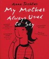 My Mother Always Used To Say - Anna Tochter