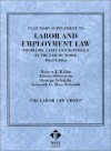 Statutory Supplement to Labor and Employment Law, Problems, Cases and Materials in the Law of Work (American Casebook Series and Other Coursebooks) - Robert J. Rabin