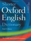 Shorter Oxford English Dictionary [With CDROM] - Oxford University Press