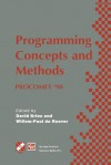 Programming Concepts and Methods Procomet 98: Ifip Tc2 / Wg2.2, 2.3 International Conference on Programming Concepts and Methods (Procomet 98) 8 12 June 1998, Shelter Island, New York, USA - David Gries, Willem-Paul de Roever