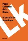 El desafio de Juan Rana - Pedro Calderón de la Barca