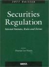 Hazen's Securities Regulation, Selected Statutes, Rules and Forms, 2011 - Thomas Lee Hazen