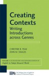 Creating Contexts: Writing Introductions across Genres - Christine B. Feak, John M. Swales