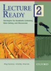 Lecture Ready 2 DVD - Katharine Sherak, Peg Sarosy