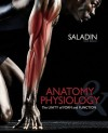 Combo: Anatomy & Physiology: A Unity of Form & Function with Student Study Guide & Connect Plus (Includes Apr & Phils Online Access) - Kenneth Saladin