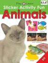 Sticker Activity Fun Animals - Roger Priddy