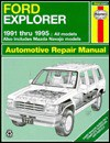 Ford Explorer and Mazda Navajo Automotive Repair Manual - Haynes Publishing, John Harold Haynes