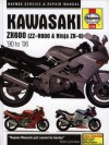 Kawasaki ZX600 (ZZ-R600 & Ninja ZX-6) '90 to '06 - Mike Stubblefield, John Harold Haynes, Max Haynes