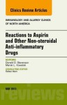 Reactions to Aspirin and Other Non-Steroidal Anti-Inflammatory Drugs, an Issue of Immunology and Allergy Clinics - Don Stevenson, Marek Kowalski