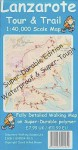 Lanzarote Tour And Trail Super Durable Map (Discovery Walking Guides) - David Brawn, Ros Brawn