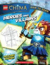 LEGO Legends of Chima: How to Draw: Heroes and Villains - Ron Zalme