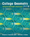 College Geometry: Using the Geometer's Sketchpad, 1st Edition - Barbara E. Reynolds