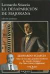 La Desaparicion de Majorana - Leonardo Sciascia, Juan Manuel Salmerón
