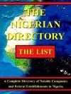 The Nigerian Directory - Daniel I. Omoruyi, 1st World Library, Ltd Hannahsgate Ltd