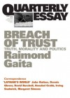 Breach of Trust: Truth, Morality and Politics - Raimond Gaita