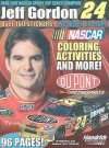 Jeff Gordon Coloring and Activity Book [With CDROM and Sticker(s)] - Larry Carney, Jeff Morrison, Chris Houghton