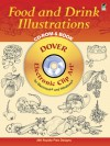 Food and Drink Illustrations CD-ROM and Book - Dover Publications Inc.