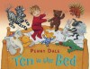 Ten in the Bed (Board Book) - Penny Dale