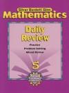 Mathematics Daily Review, Grade 5 - Silver Burdett Ginn
