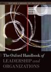 The Oxford Handbook of Leadership and Organizations - David Day